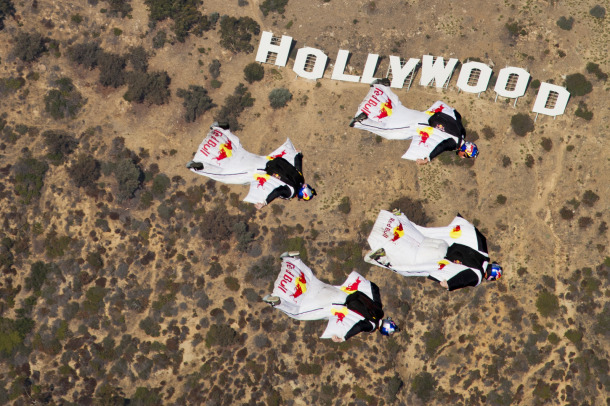hollywood wingsuit