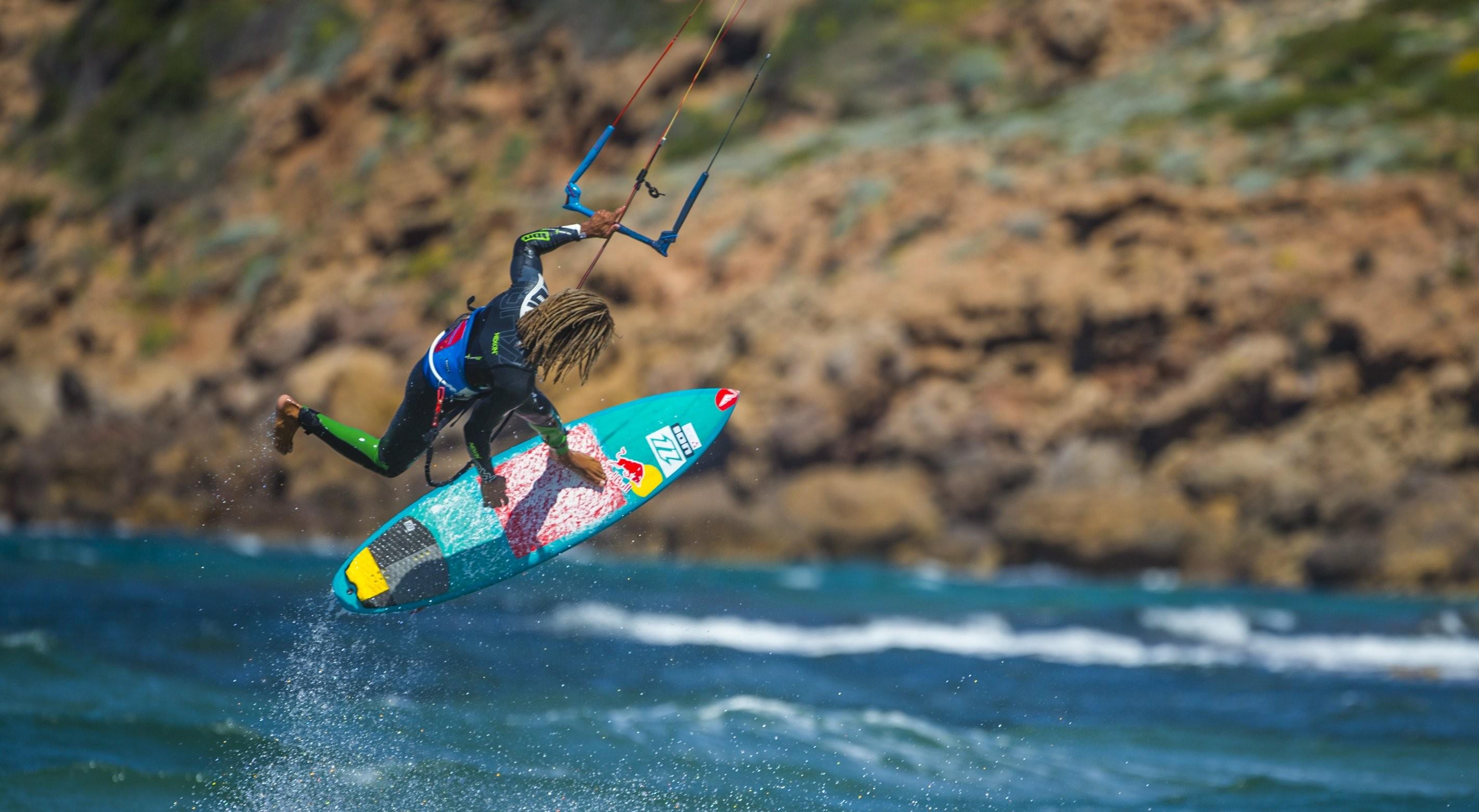Strapless kitesurf au Red Bull Unfastened 2014