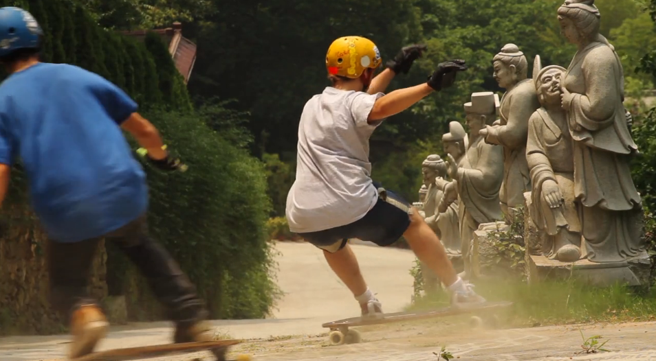 Bustin China - Exploring China on Longboards