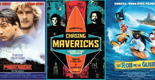 Top 5 des films de Surf