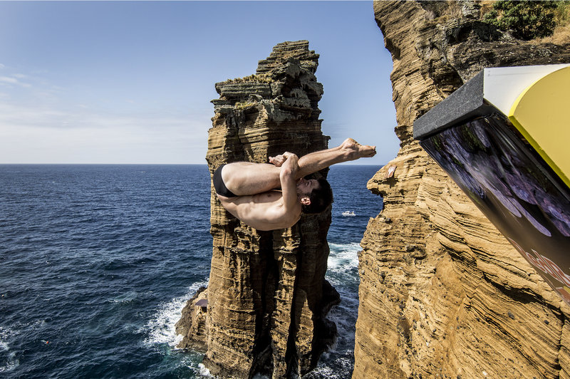 Steven Lobue Red Bull Cliff Diving 2014