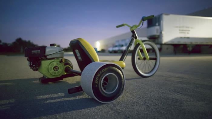 Découvrez les Tortuga Trikes, des trikes drift à moteur!