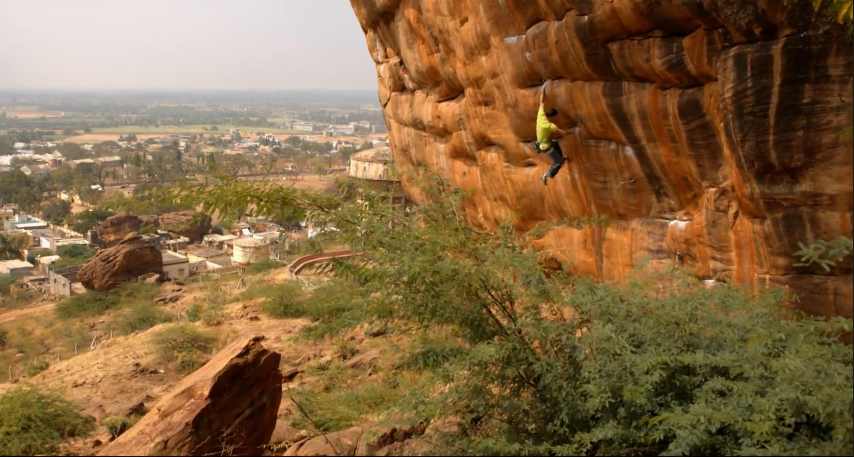 Kilian Fischhuber explore india climbing red bull