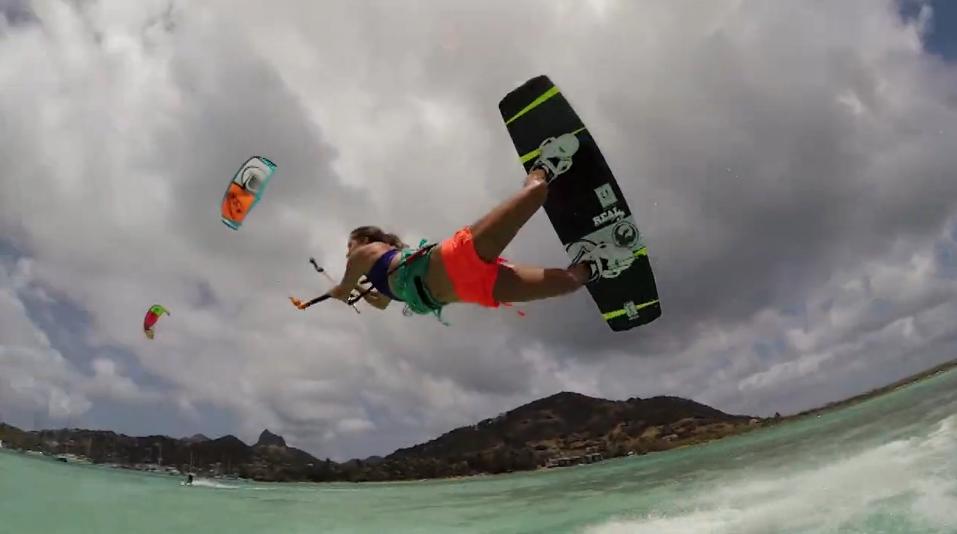 KiteSurf dans les caraïbes