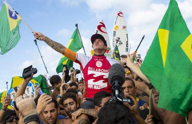 Gabriel Medina champion du monde ASP 2014