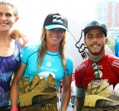 Filipe Toledo et Courtney Conlogue triomphent à Rio