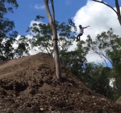 The 4:19 Project World Record BMX Dirt Jump First Attempt