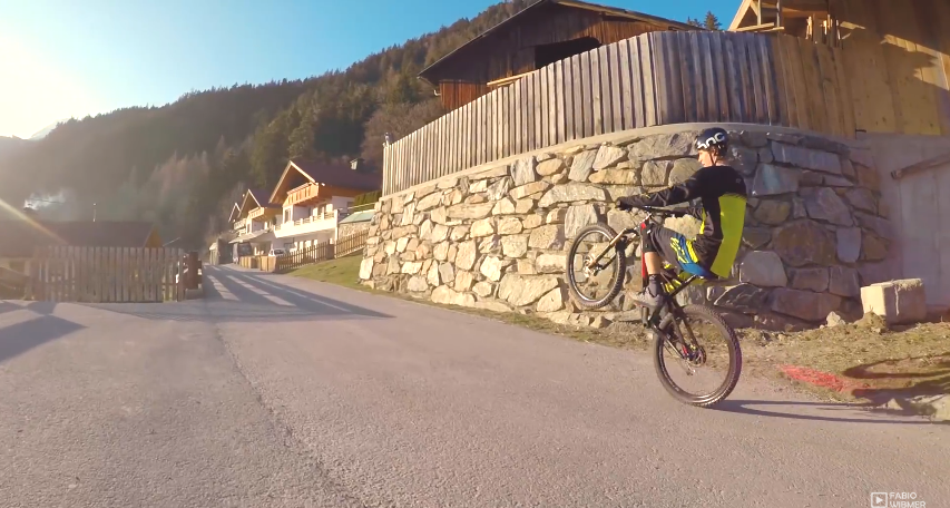 Trail & Trial riding on the 6Fattie - Fabio Wibmer