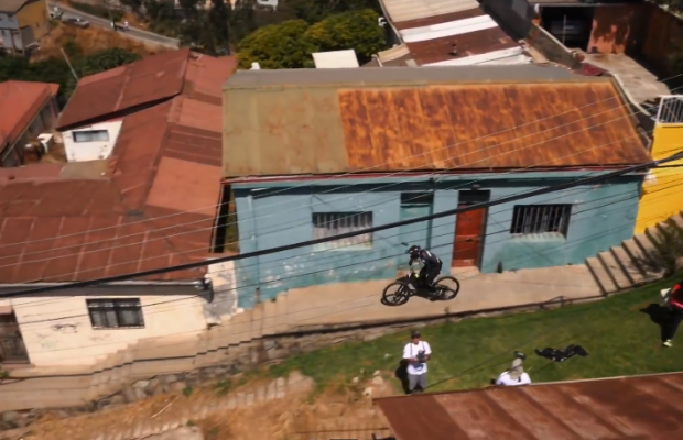 Urban Mountain Biking in Valparaíso