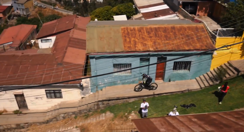 Urban Mountain Biking in Valparaíso