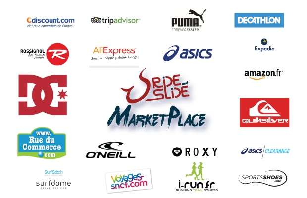Logos Partenaires Ride And Slide Marketplace