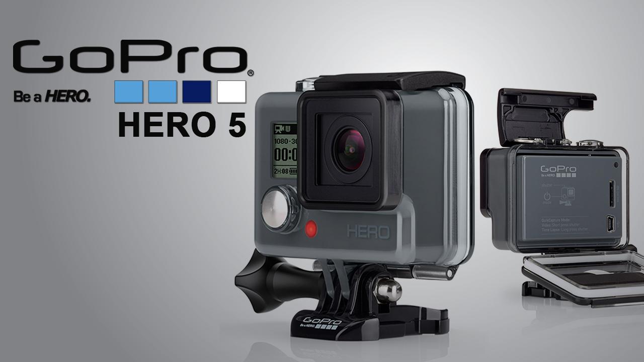 La nouvelle GoPro Hero5 et le drone Karma