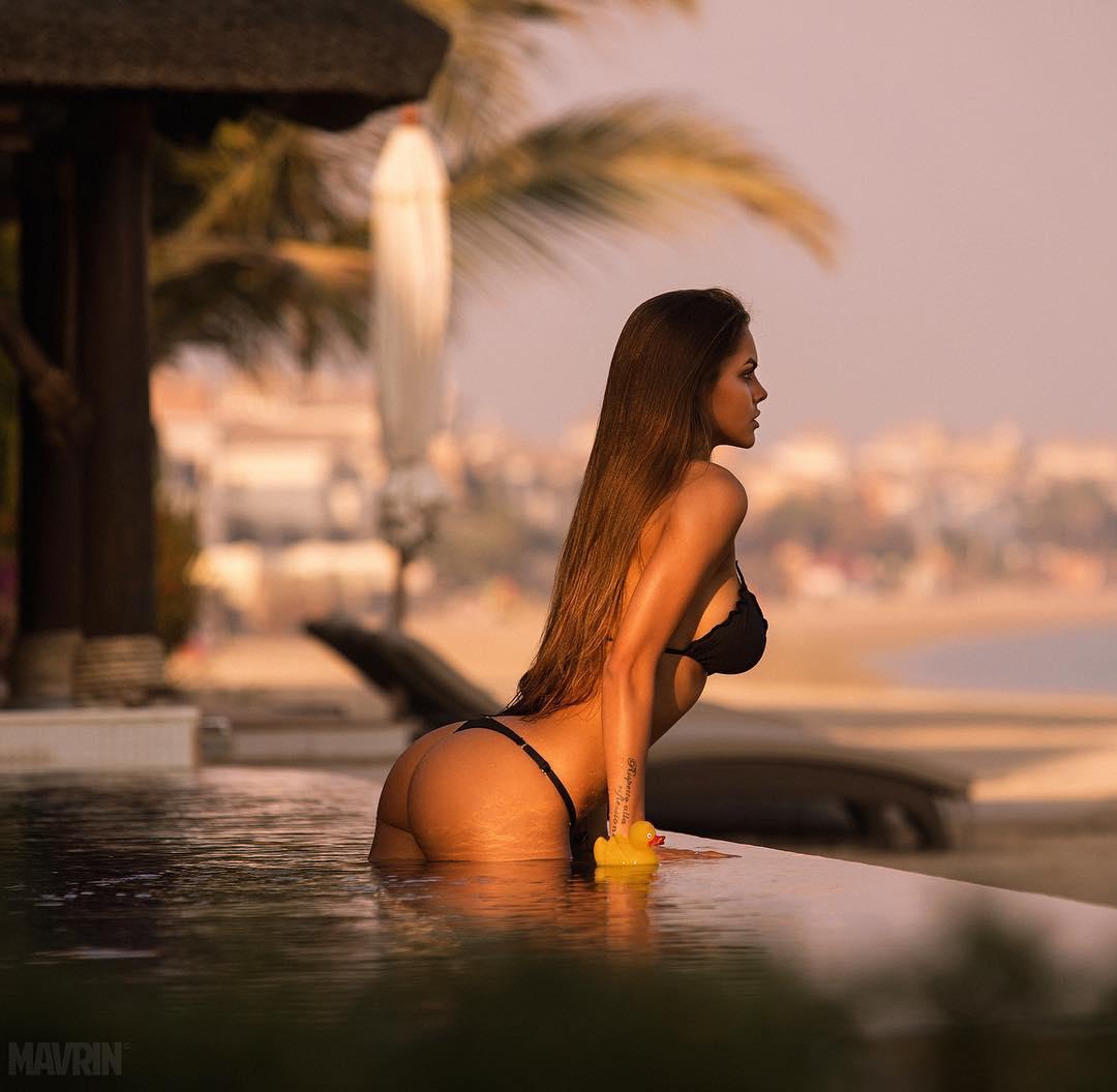 viki odintcova sexy thong string hot bikini nude naked