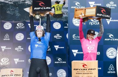 Courtney Conlogue et Jordy Smith remportent le Rip Curl Pro Bells Beach 2017