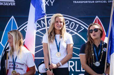 L'équipe de France et Pauline Ado championnes du monde 2017 de surf ISA, Johanne Defay et Joan Duru vice-champions !