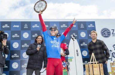 Filipe Toledo vainqueur du Corona Open J-Bay en Afrique du Sud
