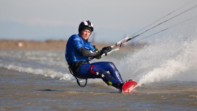 Alexandre Caizergues record du monde de vitesse en kitesurf