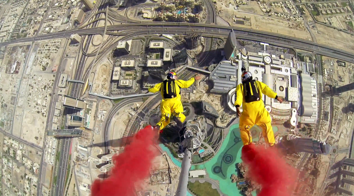 Soul Flyers World record Burj Khalifa Base Jump