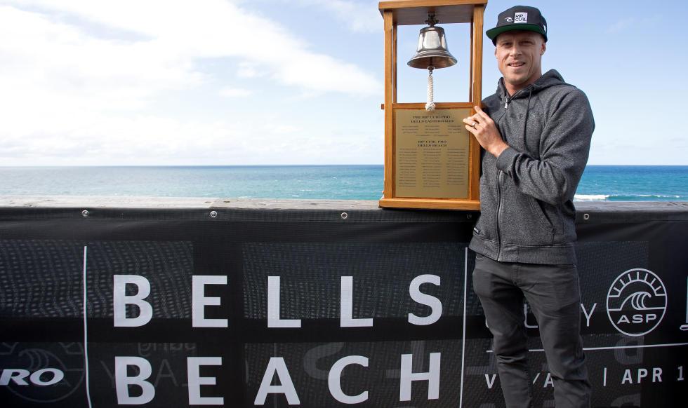 mick fanning rip curl pro bells beach champion
