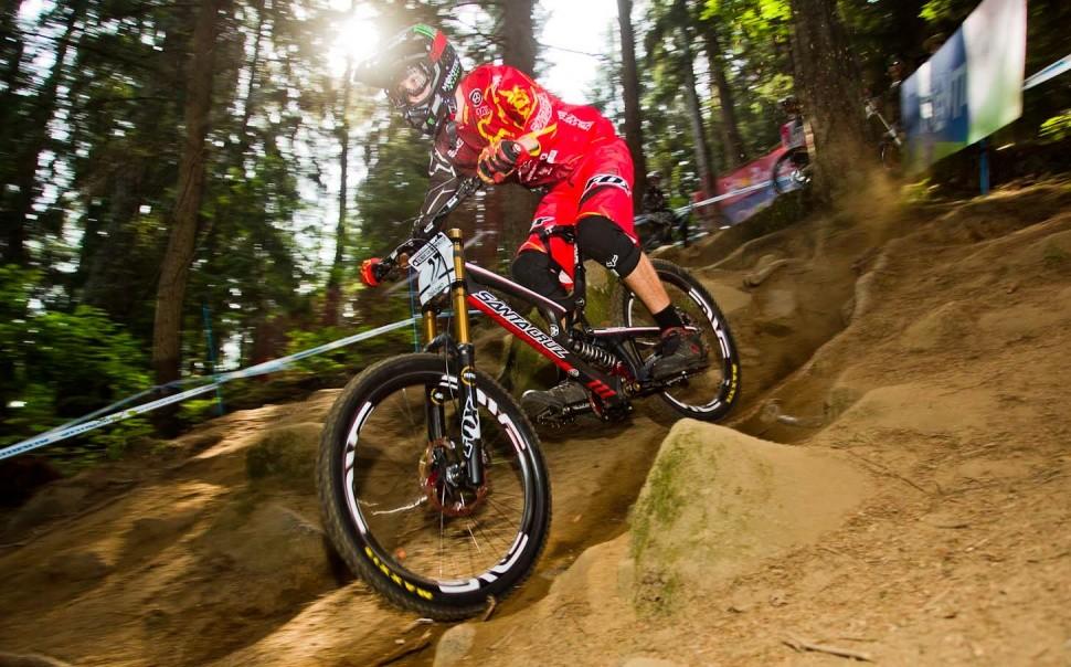 Josh Bryceland UCI MTB World Cup Downhill