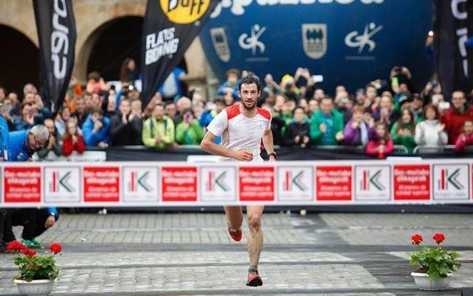 Kilian Jornet gagne le marathon zegama-aizkorri 2014
