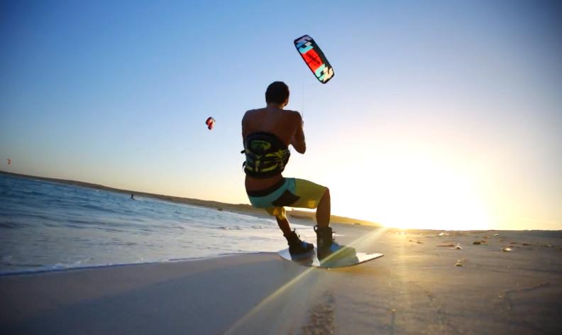 Kiteboarding Aruba - Supertramp Style