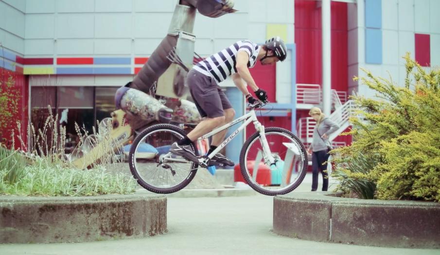Ryan Leech just riding