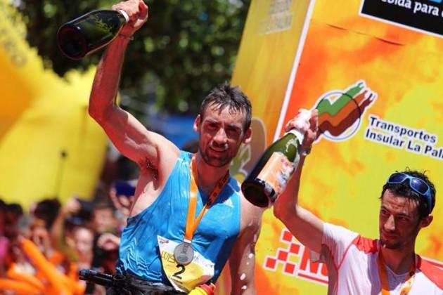 Transvulcania 2014 Luis Alberto Hernando Kilian Jornet Ultra Marathon