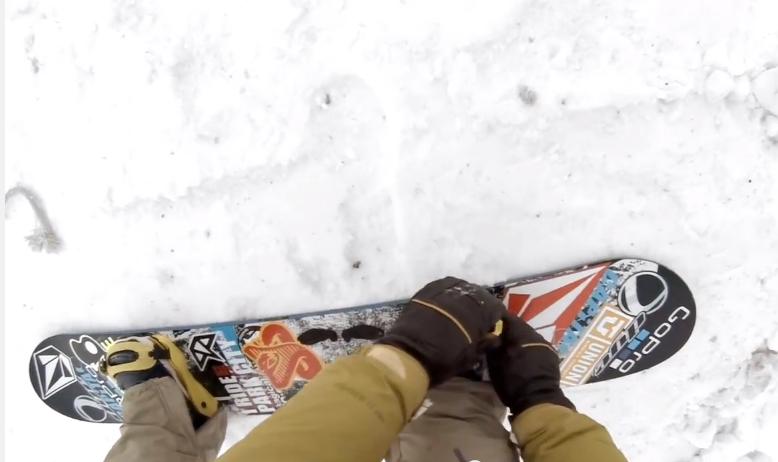 Urban Snowboarding Dan Brisse