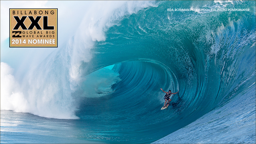 koa rothman winner tube billabong xxl 2014