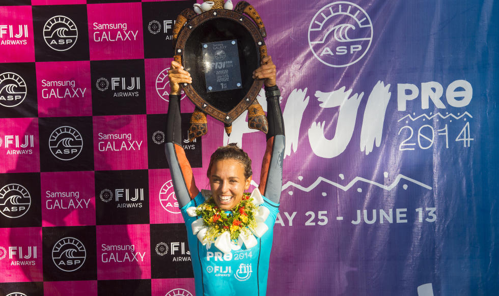 sally fitzgibbons wins fiji women's pro 2014