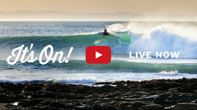 JBay Open live is on
