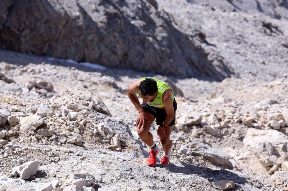 Kilian Jornet s'impose sur la Dolomites Sky Race 2014