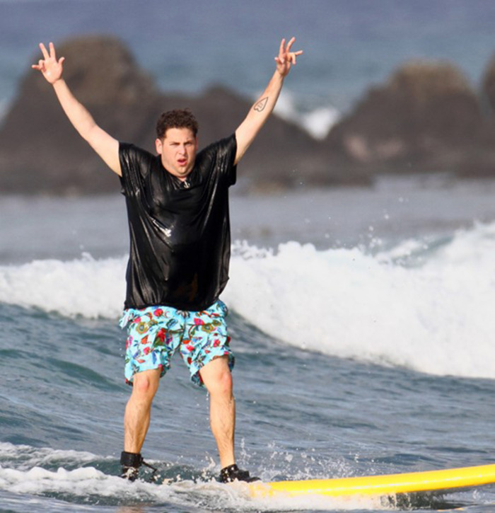 Jonah Hill surf