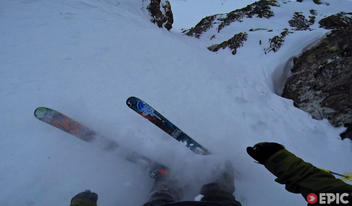 Likebomb Skiing: Not Powder Skiing, It's Sh*t-F*ck Skiing