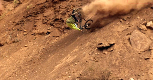 Les meilleures chutes du Red Bull Rampage
