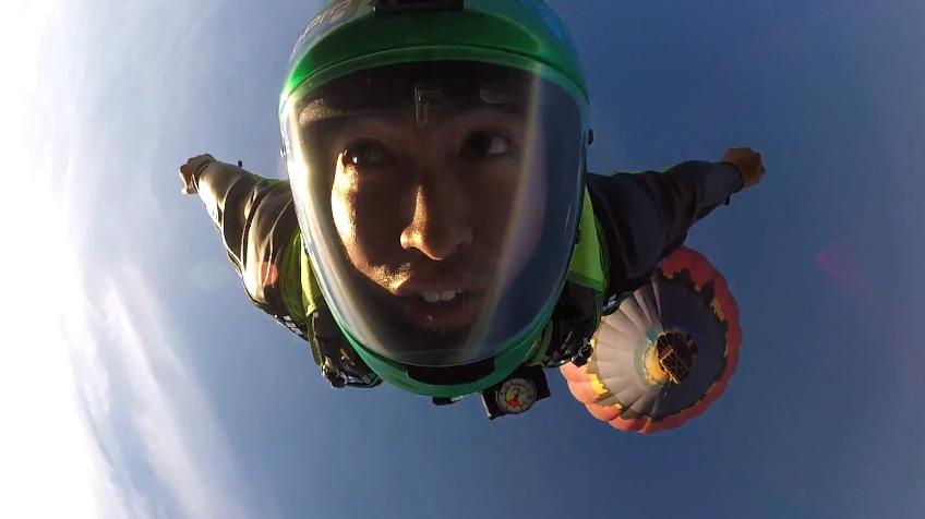 Matthew Barrientos wingsuit