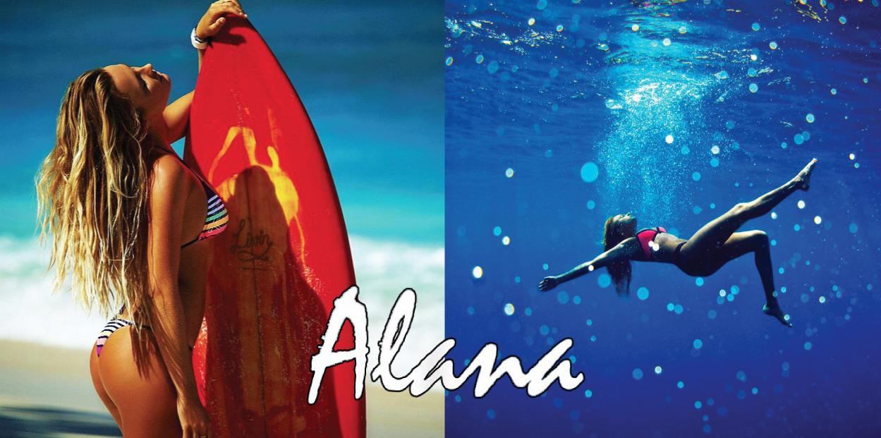 Alana Blanchard met fin à sa carrière pro surf string thong sexy hot bikini
