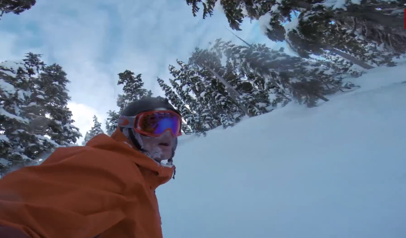 GoPro: Justin Lamoureux rides Whistler Peak and Red Chair Zone