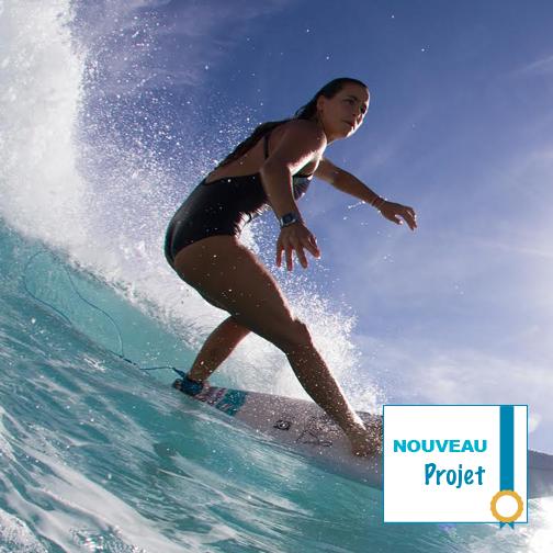Soutenez Johanne Defay surf wct wsl