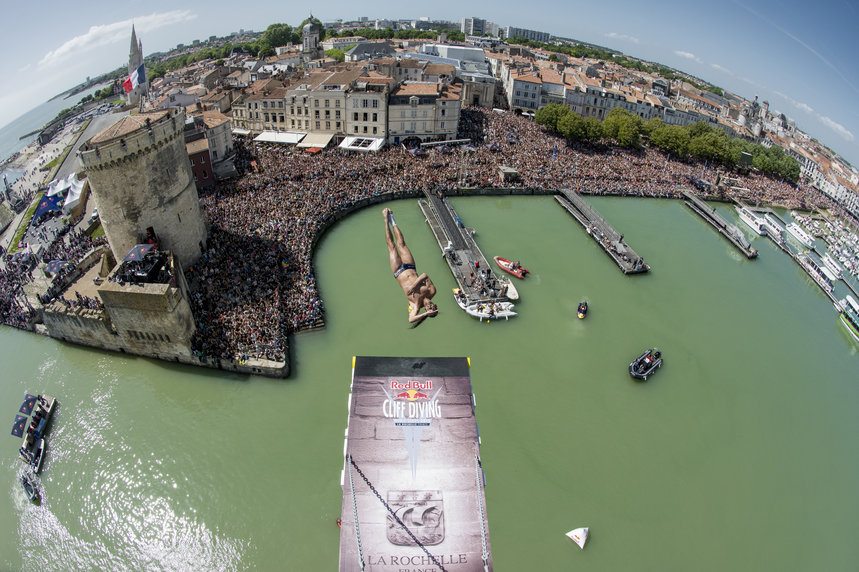 RED BULL CLIFF DIVING DE LA ROCHELLE