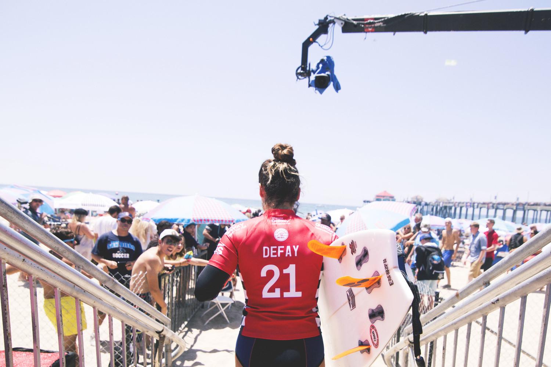 Johanne Defay remporte le Vans US Open