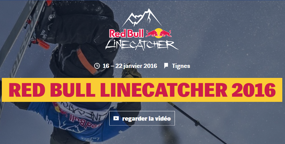 Teaser du Red Bull Linecatcher 2016