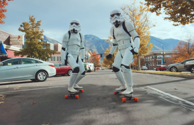 Le réveil de la force… en longboard best of 2015