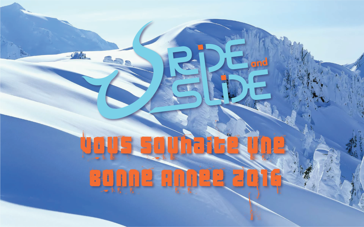 Best of 2015 de Ride And Slide Bonne Année 2016