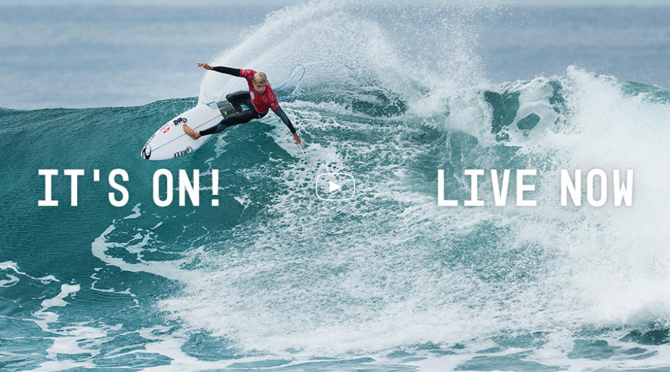 Rip Curl Pro Bells Beach 2016 en live sur Ride And Slide