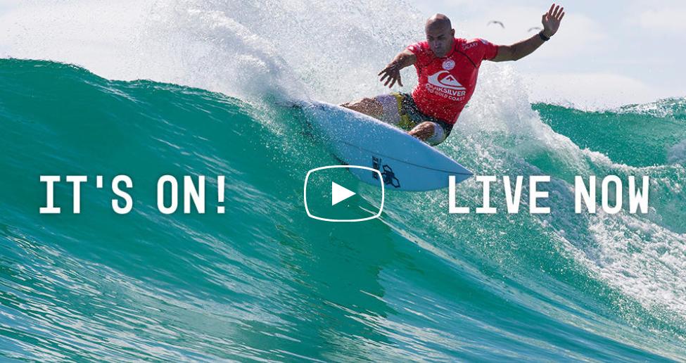 Quiksilver Pro Gold Coast 2016 en live