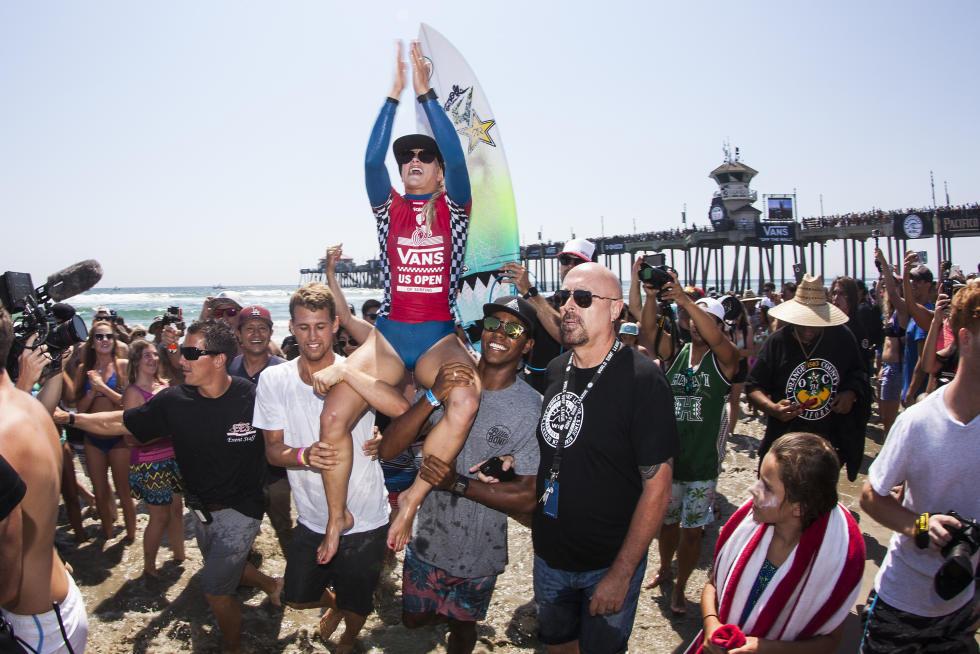 Tatiana Weston-Webb gagne le Vans US Open Of Surfing 2016