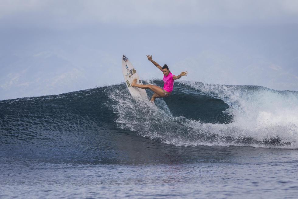 Tyler Wright remporte le Maui Women's Pro 2016 pour fêter son titre de championne du monde