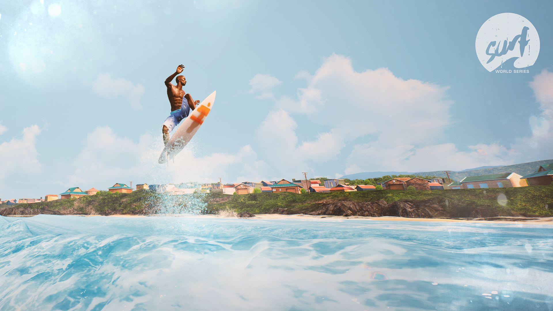 Surf World Series le nouveau jeu vidéo de surf